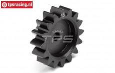 HPI106605 Stahl Zahnrad HD Schmal, 16Z, 1 stk.