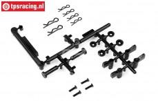 HPI108720 Akku-Box Verschluss-Halter 5B Flux, Set
