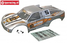 HPI110676 Karosserie Short Course Lackiert Silber, Set
