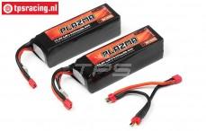 HPI115505 Plazma Ultimate Power Pack 5300 mAh 14,8 Volt, Set