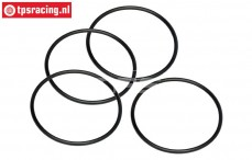 HPI15415 O-ring Luftfiltergehäuse Ø50-D2,6 mm, 4 st.