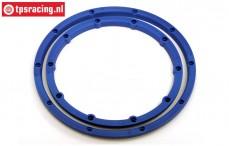 HPI3246 HPI Baja Felgenringe Blau, 2 st.