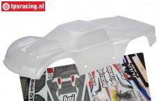HPI7561 Karosserie 5T-1 Glasklar, Set