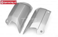 HPI7793 Karosserie seitenteil 5B-1 Silber, Set