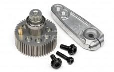 Servoabtrieb mit hebel Aluminium, HPI SFL-10 MG2, Set