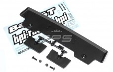 HPI85249 Heckspoiler 5T-1 Schwarz, Set