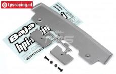 HPI85295 Heckspoiler 5T-1 Silber, Set
