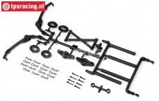 HPI85417 Karosseriehalter vorne/hinten Baja 5T, Set
