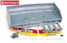 HPI85453 Heckspoiler Silber, Set