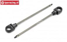 HPI86438 Stoßdämpfer Kolbenstange lang 5B, 2 st.