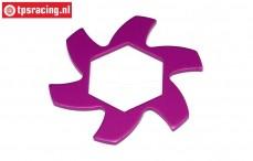 HPI87425 Bremsscheibe Kühler Violett, 1 st.