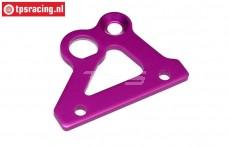 HPI87428 Bremsachsehalter platte Violett, 1 st.