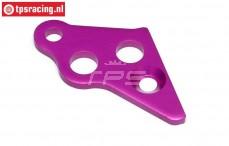 HPI87431 Motorhalterungs strebe links Violett, 1 st.