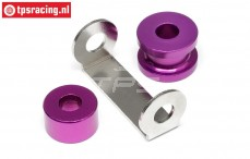 HPI87458 Motor Distanzstück Violett, Set