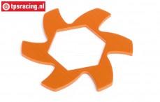 HPI87486 Bremsscheibe Kühler Orange, 1 st.