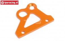 HPI87487 Bremsachsehalter platte Orange, 1 st.