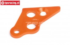 HPI87489 Motorhalterungs strebe links Orange, 1 st.