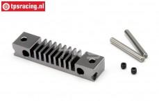 HPI87572 Bremsbelägehalter HD Gun Metal, Set.