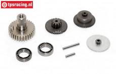 Getriebe Komplett, JX-BLSHV7146MG/ servo, Satz