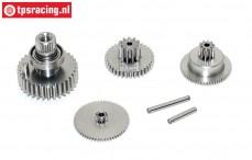Getriebe Komplett, JX-BLS6534HV servo, Set