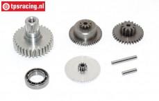 Getriebe Komplett, JX-PDI-HV7232MG servo, Satz