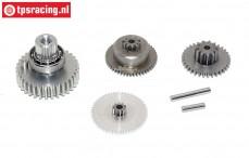Getriebe Komplett, JX-PDI-HV5921MG servo, Satz