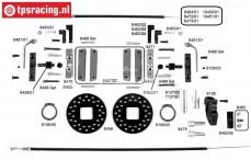 Konstruktionszeichnung Kabelbremsen FG8450/1