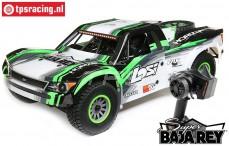 LOS05013T1 1/6 Super Baja Rey Schwarz