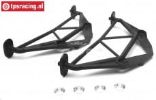 LOS250011 Karrosserie halter vorne/hinten MTXL, Set