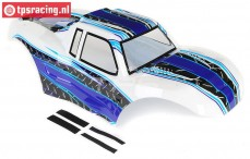 LOS250014 Karrosserie MTXL Weiß/Blau, Set
