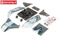 LOS250017 Karrosserie DBXL-E Lackiert Grau, Set