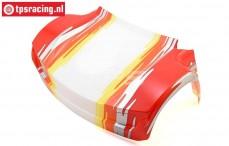 LOS250028 Karosserie vorne Rot Super Baja Rey, 1 st.