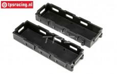 LOS251098 DBXL-E 2.0 Batteriehalter, 2 st.