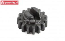 LOS252049 Stahl Zahnrad 15Z MTXL, 1 st.