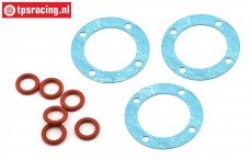 LOS252097 LOSI 5T 2.0 Differential dichtung-O-ring, Set