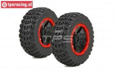 LOS45004 Reifen mit Felge DBXL Ø175-B70 mm, 2 st.