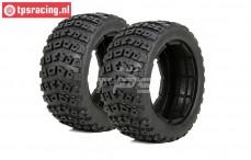 LOS45006 DBXL Reifen mit Einlage Ø120-B70 mm, 2 st.