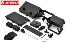 LOSB2585 RC platte Komplett, LOSI-BWS, Set