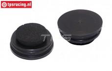 TPS2855/08 Tuning Dämpfer Volume Ausgleich LOSI-BWS, Set