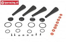 LOSB2856 Stoßdämpfer wartung LOSI-BWS, Set