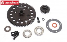 BWS59105 Differential Zahrad Mitte, (5B-5T-BWS), Set