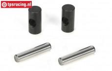 LOSB3217 CV Verbinder/Stift, LOSI-BWS-TLR, Set
