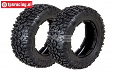 LOSB7240 LOSI Rally Nomad Medium Ø120-80 mm, 2 st.