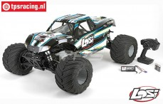 LOS05009T1 LOSI 1/5 MONSTER TRUCK XL 4WD RTR Schwarz