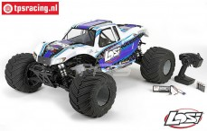 LOS05009T2 LOSI 1/5 MONSTER TRUCK XL 4WD RTR Weiß