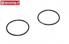 M2009/24 Mecatech Rändermutter O-ring, 2 st.