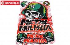 TPS19/046 Dekorbögen Metal Mulisha, 1 st.