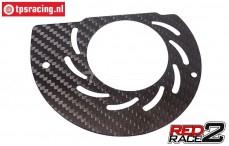 TPS1084/11 TPS® RedRace2 Luftleitblech hinten T, 1 st.