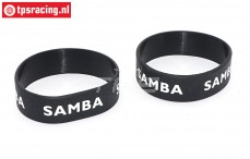 SAM7114Z Samba Resorohr Ringen Ø50-Ø60 mm Schwarz, 2 st.