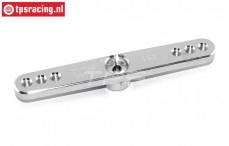 TPS0850/02 Aluminium-Servohebel 15Z-L73 mm Silber, 1 st.